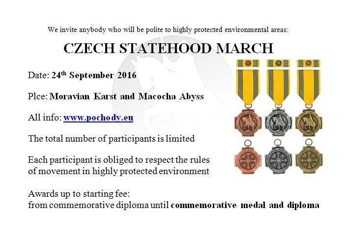 Czech Statehood March poster